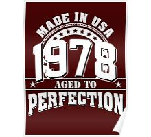 1978 aged to perfection Poster