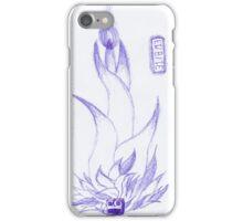 Floral Robot Ink Sketch iPhone Case/Skin