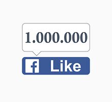 Facebook 1 Million Likes, Friends and Views T-Shirt