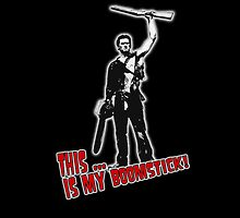 Army of Darkness - Boomstick 2 - ipad case by Chloe van Leeuwen