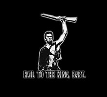 Army of Darkness - Hail to the King - ipad case by Chloe van Leeuwen
