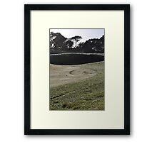 Moonah Links Series #60 Framed Print