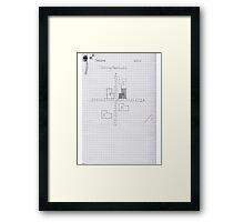 Maths Book Framed Print