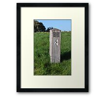 Moonah Links Series #89 Framed Print