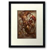 The Emulsifying Mermaid Framed Print
