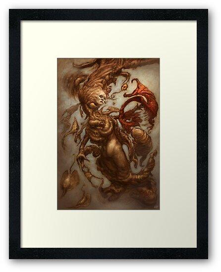 The Emulsifying Mermaid by Ethan  Harris