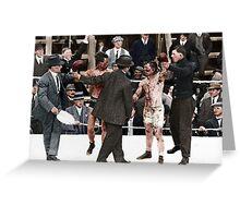 Ray Campbell vs Dick Hyland 3rd May, 1913 Greeting Card