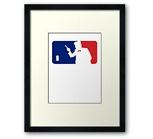 Major League Time Lord Framed Print
