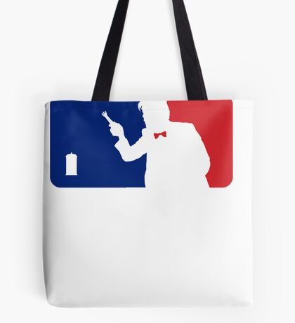 Major League Time Lord Tote Bag