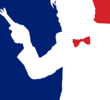 Major League Time Lord Sticker