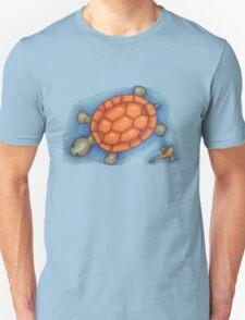 Turtle and Koi Unisex T-Shirt