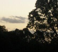 Sunrise Over the Mary River, Maryborough Sticker