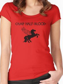 Camp Half-Blood Camp Shirt Women's Fitted Scoop T-Shirt