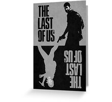 The Last of Us -  Ellie & Joel Greeting Card