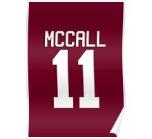 Scott McCall's Jersey - white text Poster
