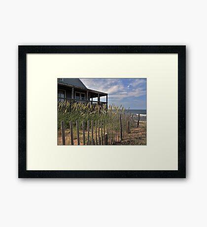 Atlantic Getaway Framed Print