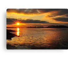 Super Sunset Canvas Print