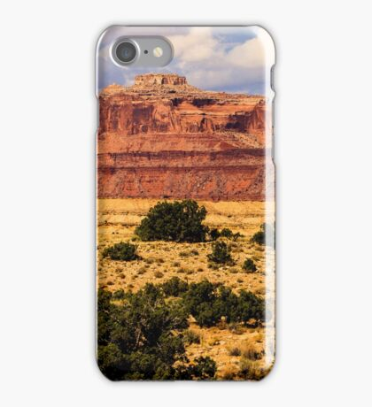 Colorado Butte and Clearing Storm iPhone Case/Skin