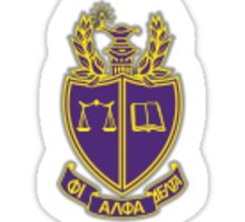 Phi Alpha Delta Pre-Law Fraternity Crest Sticker