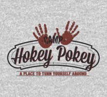 Camp Hokey Pokey - A Place to Turn Yourself Around - Parody Shirt - Humor - Hokey Pokey Kids Clothes