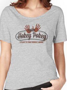Camp Hokey Pokey - A Place to Turn Yourself Around - Parody Shirt - Humor - Hokey Pokey Women's Relaxed Fit T-Shirt
