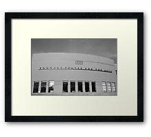 Edmonds Center for the Arts - Art Deco Gem Framed Print