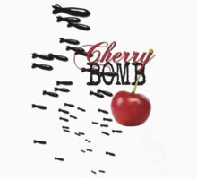 cherry bomb Kids Tee
