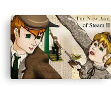 The New Age of Steam 2 Canvas Print