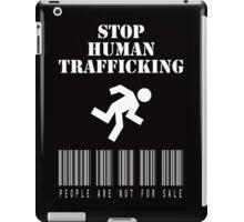Stop Human Trafficking iPad Case/Skin