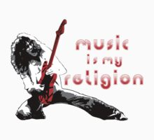 Music is my Religion by NoodlesDoodles