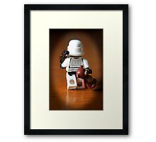 Teddy Trooper Framed Print