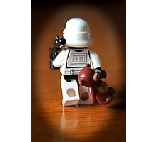 Teddy Trooper Photographic Print