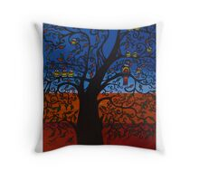 OUTBACK TWEETING Throw Pillow