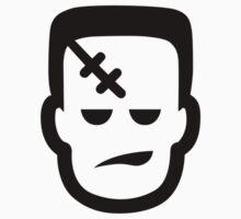 Frankenstein Halloween Ideology Kids Tee