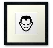 Vampire Halloween Ideology Framed Print