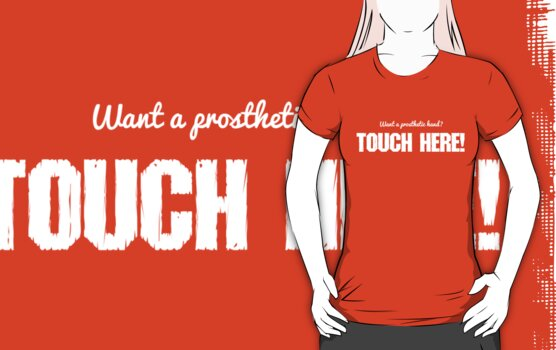 Want A Prosthetic Hand? Touch Here! by JippaLippa