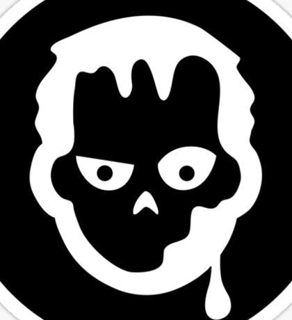 Zombie Halloween Ideology Sticker
