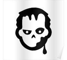 Zombie Halloween Ideology Poster