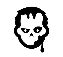 Zombie Halloween Ideology Photographic Print