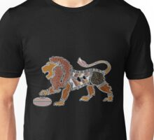 Authentic Aboriginal Art - Lion Unisex T-Shirt