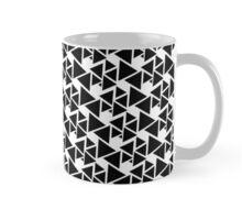 Black tiangle madness Mug