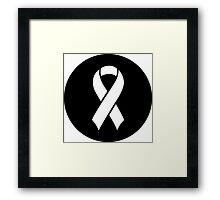 Breast Cancer Awareness Framed Print