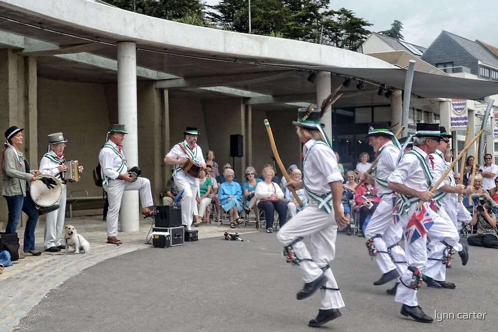 Morris Dances , Lyme,Dorset,UK by lynn carter