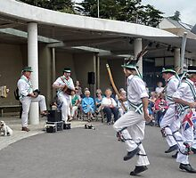 Morris Dances , Lyme,Dorset,UK by lynn carter