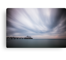 Eastbourne pier - 10minute exposure Canvas Print