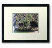 007 island Framed Print