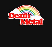 Death Metal rainbow sunshine in the 80s Women's Fitted Scoop T-Shirt