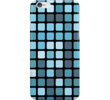 blue mosaic iPhone Case/Skin