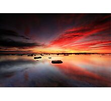 Long Reef Reflections Photographic Print