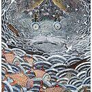 Golden fishes by Ruta Dumalakaite